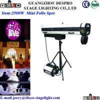 Buy cheap 4000W Manual Disco Stage Follow Spotlights Color Changing  Wedding Light from wholesalers