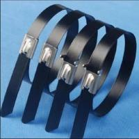 Buy cheap Stainless steel (PVC coated)cable tie from wholesalers