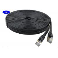 Wholesale 1000 Mbps Transfer Rate Ultra - Thin Flat Jumper Cat6 Ethernet Cable / Network Cable from china suppliers