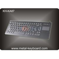 Wholesale 87 Keys Plastic Industrial PC Keyboard with touchpad In USB Interface from china suppliers