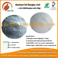 Wholesale Aluminum foil fiberglass cloth ,foil faced fiberglass duct insulation from china suppliers
