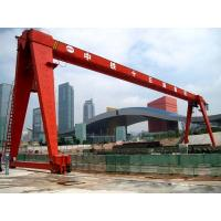 Wholesale 1- 32 ton MH model rail mounted single girder gantry crane with elctric hoist from china suppliers