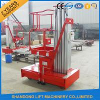 Wholesale Electric Telescopic Vertical Hydraulic Man Lift EquipmentLight Duty 6m 100kg from china suppliers
