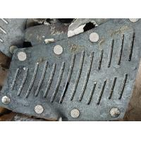 Wholesale Schlitzplatte FMU29 Alloy Steel Castings φ3M HRC52 For Mine Mill from china suppliers