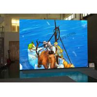 Wholesale P3 Tri - Color Indoor Rental Led Display , Thin Cabinet Led Stage Screen Rental from china suppliers