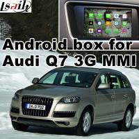 Wholesale GPS car navigation box interface for Audi Q7 , multimedia video interface from china suppliers