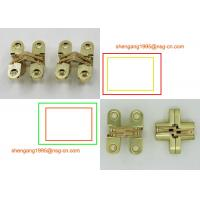 Wholesale brass/gold 180 Degree opening invisible hinge soss small hinges SG-HC104#1 from china suppliers