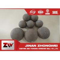 Wholesale Forged and high cr cast grinding ball for ball mill used in mining from china suppliers
