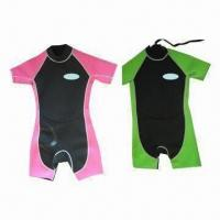 Wholesale Wetsuits for Surfing, Various Designs are Available, Customized Logos are Accepted from china suppliers