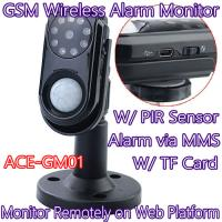 Wholesale Home Intelligent GSM Wireless Photo MMS Alarm Camera Monitor W/ PIR Theft Burglar Detect from china suppliers