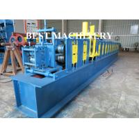 China Galvanized Cold Steel Slat Rolling Shutter Door Roll Forming Machine Shop Usage on sale