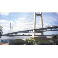 Wholesale Suspension Deck Cable Stay Bridges Permanent With Straight Cables from china suppliers
