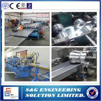 Wholesale Heavy Duty Sheet Metal Roll Former Machine , 11 KW Cable Tray Roll Forming Lines from china suppliers