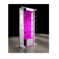 Quality Purfume / Diamond Necklace Wood Display Cabinets With Storage Room for sale