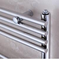 Quality CE Certificate Electric Heated Towel Rails Radiator With Thermostat For Bathrooms for sale