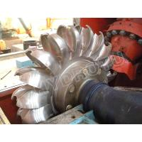 Quality Impulse turbine Pelton Hydro Turbine / Pelton Water Turbine with Stainless Steel Runner for High Head Hydropower Project for sale