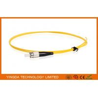 Wholesale FC UPC SM SX Pigtail 1.6mm LSZH, Fiber Optic Pigtails FC PC Single Mode Simplex from china suppliers