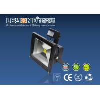 Wholesale Black 5000k Led Floodlight With PIR Motion Sensor , 100lm / W from china suppliers