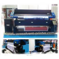 Quality Two / Three DX7 Head Dye Sublimation Fabric Printer Wall Paper Use for sale