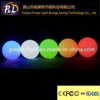 Wholesale Decorative Waterproof Swim Pool Floating LED Globe Light from china suppliers