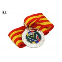 Wholesale Blank Metal Custom Award Medals , commemorative medals With Epoxy Sticker Logo from china suppliers
