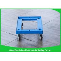 Wholesale Customized Pallet Plastic Moving Dolly100 - 150KG Capacity 612 * 412 * 145mm from china suppliers
