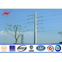 Wholesale 11.8m 2.5kn Load Electrical Power Pole 90% Welding Surface Treatment from china suppliers