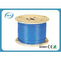 23 AWG Ethernet Cat 7 Lan Cable With 1000FT Indoor Dual Shielded Solid Copper