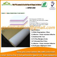 Wholesale White PP film laminated aluminum foil and kraft paper with fiberglass scrim reinforced from china suppliers