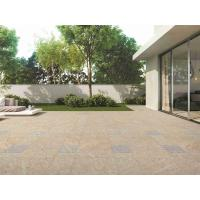 Wholesale Fireplace Outdoor Porcelain Tile / Beige Cream Porcelain Tile Roughness from china suppliers