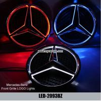 Wholesale Mercedes-Benz GL class W166 Front Grille logo LED Light Emblem Led Lamp from china suppliers