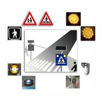 Solar Safety Alert Traffic Warning System ,  Intelligent Pedestrian Warning System