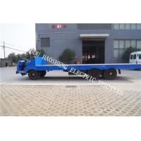 No Emissions Electric Platform Truck , Electric Tow Truck Flexible Braking