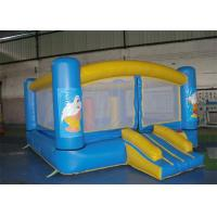 Wholesale Blue Color Inflatable Bouncer , Mini Inflatable Body Bouncers For Kid from china suppliers