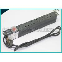 Wholesale Power Distribution Unit 6 Way UK Socket 19 Horizontal Rack PDU C14 Plug from china suppliers