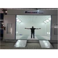 Wholesale Belt Drive Fan Professional Compliant Paint Booths 4.5M Width CE TUV Certification from china suppliers