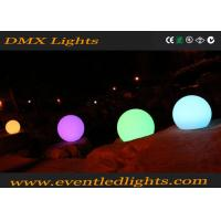 Wholesale Illuminated glowing  floating led waterproof ball , glow balls for swimming pool from china suppliers