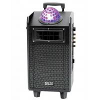 Wholesale Top Laser Disco Light Bluetooth Speaker / Portable Speaker Box On Wheels from china suppliers