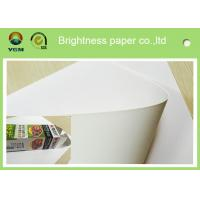Wholesale Hard Stiffness Box Making Cardboard , Folding Box Paper High Brightness from china suppliers