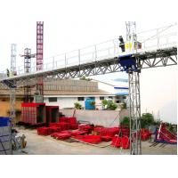 Wholesale Aerial Twin Lifting Mast Climbing Work Platform for Building Cleaning Maintenance from china suppliers
