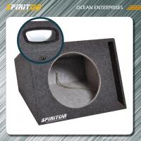 "Wholesale Fashionable Custom CARB MDF 12"" 15CM Car Speaker Enclosures black / grey from china suppliers"