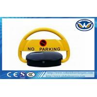 Wholesale IP68 Waterproof Steel Automatic Remote Car Parking Locks in Yellow from china suppliers