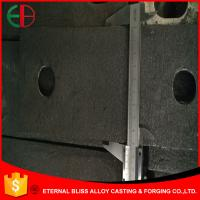 Wholesale HBW 480Cr2 Nihard White Iron Mill Liner Casting Dimensional Check EB10025 from china suppliers