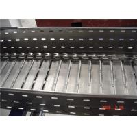 Wholesale Galvanized Perforated Steel Trench Ladder Cable Tray Roll Forming Machine from china suppliers
