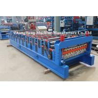 Wholesale Galvanized Meatal double layer roofing sheet roll forming machine / double layer roof tile from china suppliers