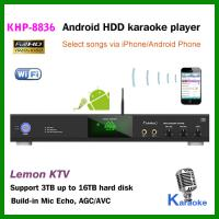 Wholesale Factory wholesale  Android Karaoke player ,Support MKV/VOB/DAT/AVI/MPG songs ,songs encryption from china suppliers