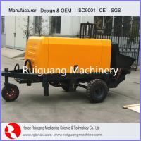 Wholesale diesel engine type concrete pump with cheap price from china suppliers