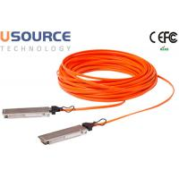 Wholesale Data Center Huawei Compatible 40G Fiber Optic Cable QSFP + AOC Greater bandwidth from china suppliers