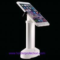 Wholesale COMER Electronic store cellphone counter holder with bracket alarm security display locking from china suppliers
