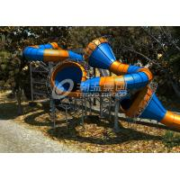 Wholesale Newest Amusement Waterpark Equipment Giant Fiberglass Constrictor Slide for Theme Water Park from china suppliers
